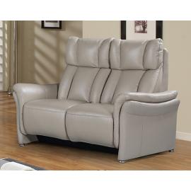 Canapé de relaxation de teinte mastic têtière électrique
