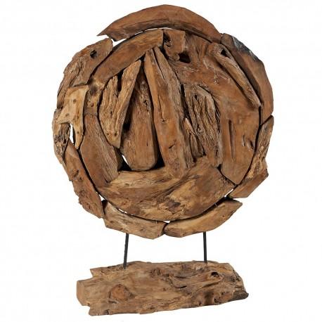 Sculpture ronde sur socle Mustsc 1 - Must Casita