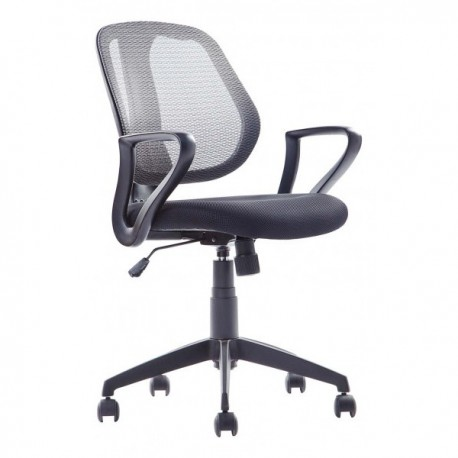 Chaise de bureau Biba avec accoudoir