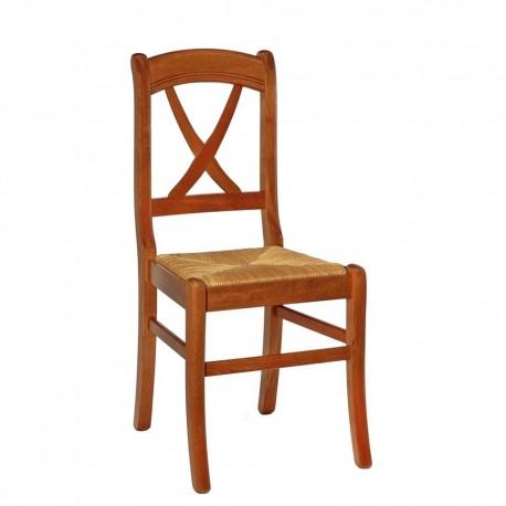Chaise hêtre avec assise en paille