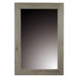 Miroir rectangulaire 120 finition teck gris clair