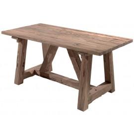 Table rectangulaire 180 teck recyclé - Andoma Casita