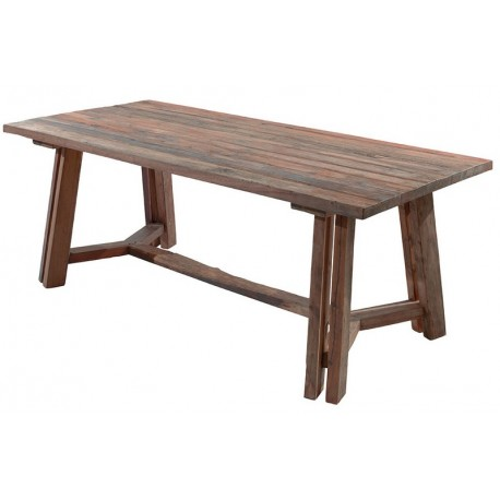 Table rectangulaire bois recyclé - Tonic Casita