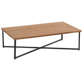 Table basse métal et teck recyclé - Roster Casita