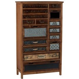 Armoire industriel 1 porte 13 tiroirs - Harold Casita