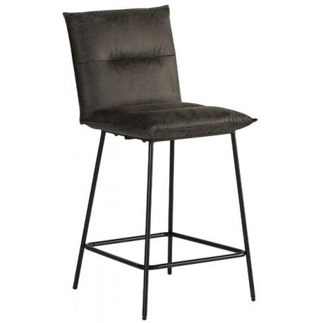 Chaise pour ilot tissu gris - Casita