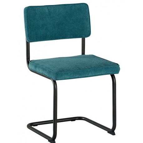 Chaise revêtement polyester bleu - Brampton Casita