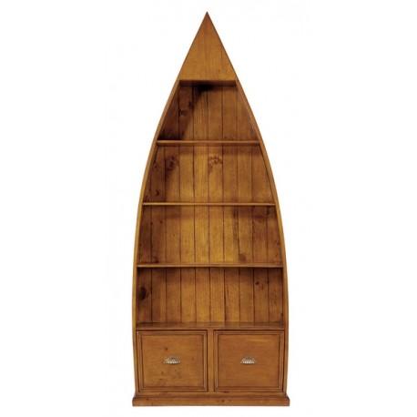 Bibliothèque bois massif recyclé - Dinghy Office