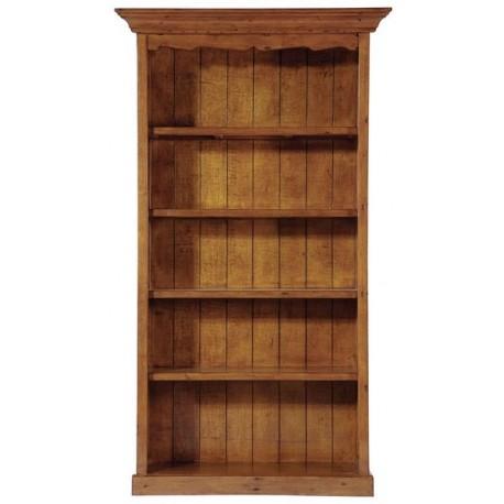 Bibliothèque GM 4 étagères en bois massif - Office