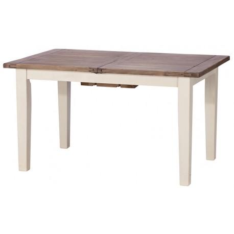 Table 1m60 bois recyclé avec allonge - Costwold