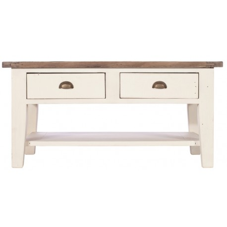Table basse double plateau 2 tons - Costwold