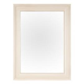 Miroir laqué blanc satiné - Costwold