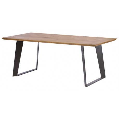 Table rectangulaire 1m80 chêne massif - Oslo