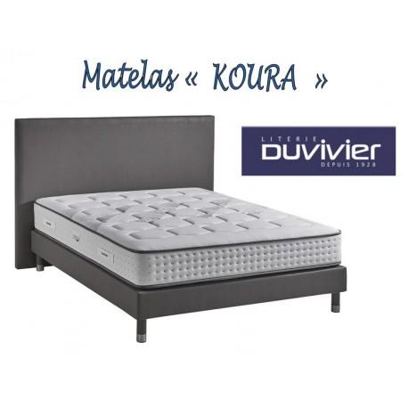 Matelas ressorts Koura Duvivier couchage ferme