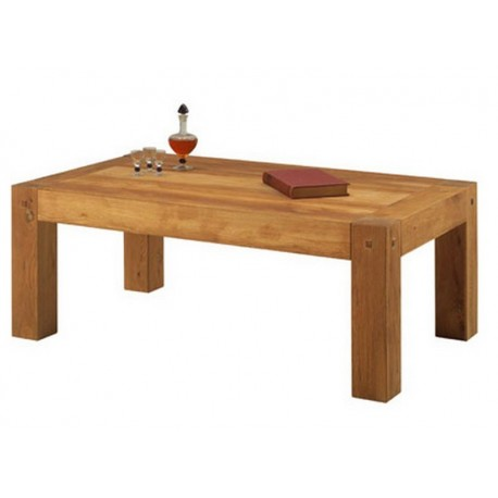 "TABLE BASSE RECTANGULAIRE ""LODGE"""