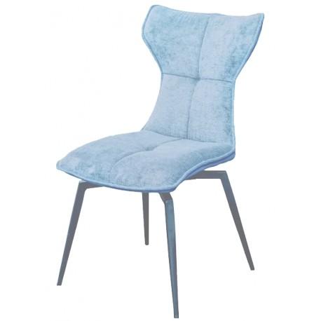 Chaise pivotante Sun de teinte bleue