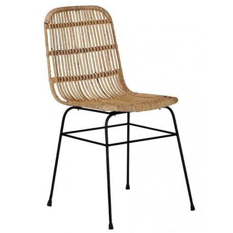 Chaise rotin naturel - Casita