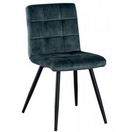 Chaise couleur bleu pétrole - Franklin Casita