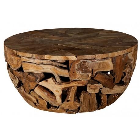 Table basse racine de teck - Wisconsin Casita