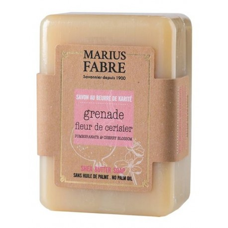 Savonnette à la Grenade et Fleur de cerisier - Marius Fabre