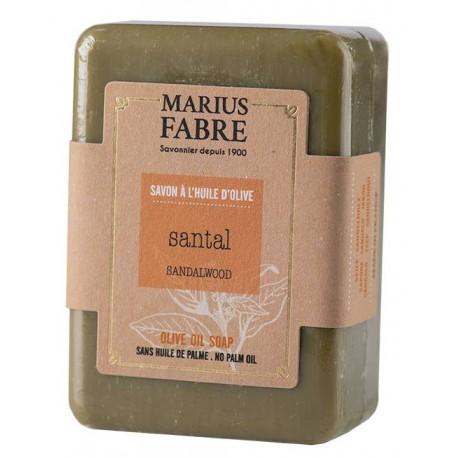 Savonnette 150gr parfumée au Santal - Marius Fabre