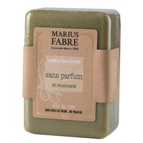 Savonnette à l'huile d'olive non parfumée - Marius Fabre