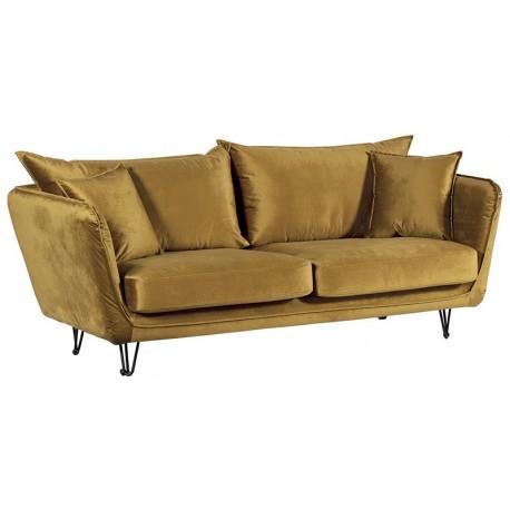 Canapé de couleur ocre - Hasting Casita