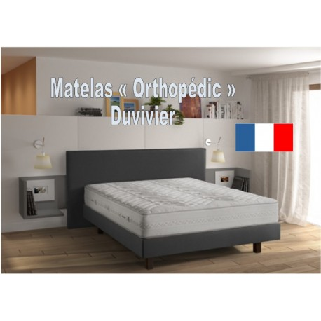 Matelas 160 x 200 cm - Orthopédic Duvivier