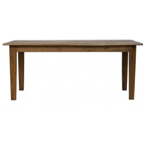 Table rectangulaire 2M manguier massif naturel - Jeanne