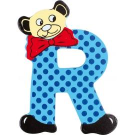 """Lettre ours décorative """"R"""" par Legler"""