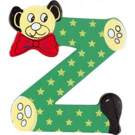 """Lettre ours décorative """"Z"""" par Legler"""