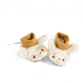 Chaussons Nuages 0 - 6 mois - Moulin Roty