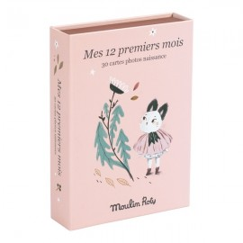 Carte Mes 12 premiers mois - Moulin Roty