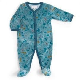 Pyjama 12m velours Sous mon baobab - Moulin Roty