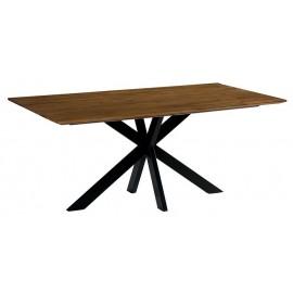 Table 1.80m teck massif recyclé - Copley Casita