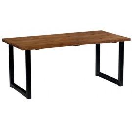 Table 1.80m teck massif recyclé - Ilowa Casita