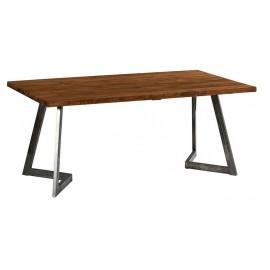 Table 1.80m teck massif recyclé - Talmo Casita