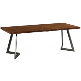 Table 2.20m teck massif recyclé - Talmo Casita