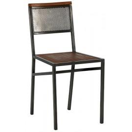 Chaise teck massif recyclé - Talmo Casita