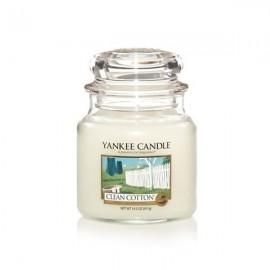 MOYENNE JARRE CLEAN COTTON (coton frais) YANKEE CANDLE