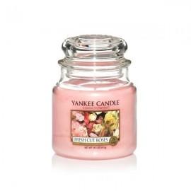 MOYENNE JARRE FRESHCUT ROSES (Roses fraichement coupées) YANKEE CANDLE