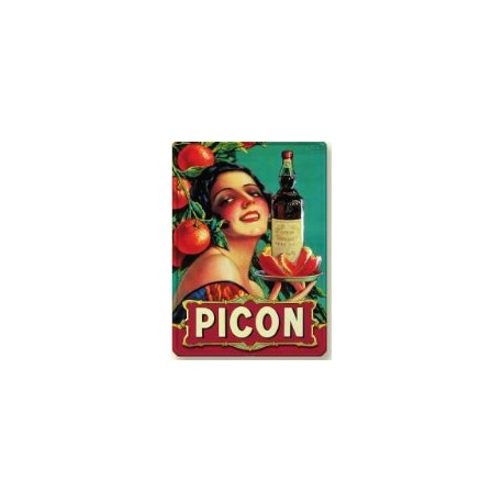 PLAQUE METAL PICON 30 X 40