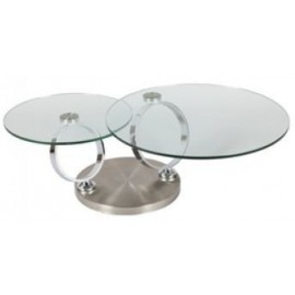 TABLE BASSE MEGEVE RONDE